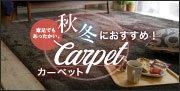 秋冬におすすめのカーペット特集