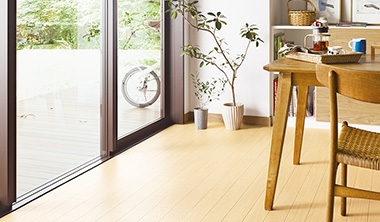 建具と床材の関係性