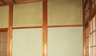 シーラー前に準備が必要な下地 古壁・塗り壁の場合