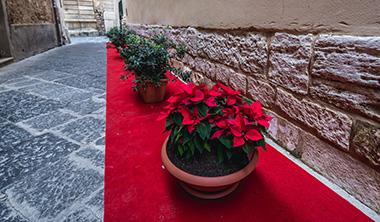 クリスマス装飾の部屋