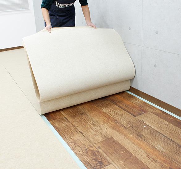 パンチカーペットの施工