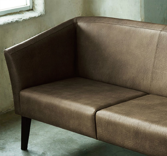 椅子の張替えには人工皮革