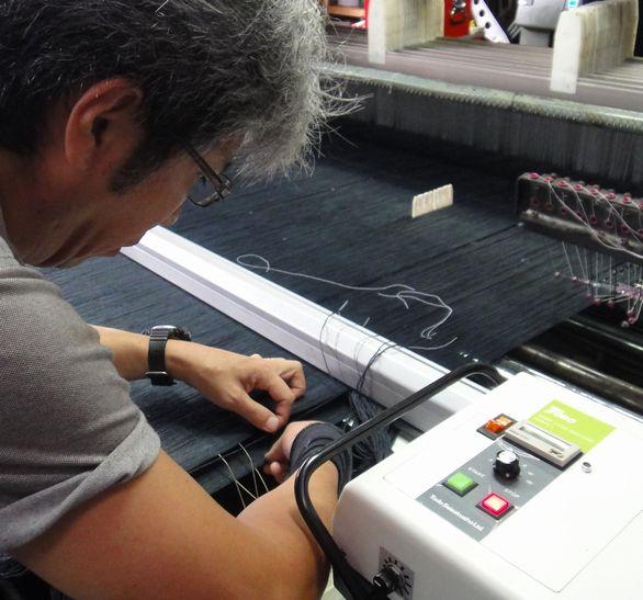 編み方のイメージ