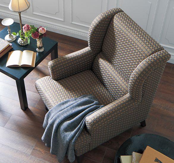 ファブリック生地の椅子イメージ