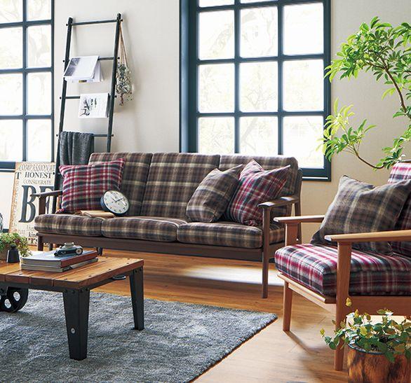 デザイン性の高い椅子張り生地