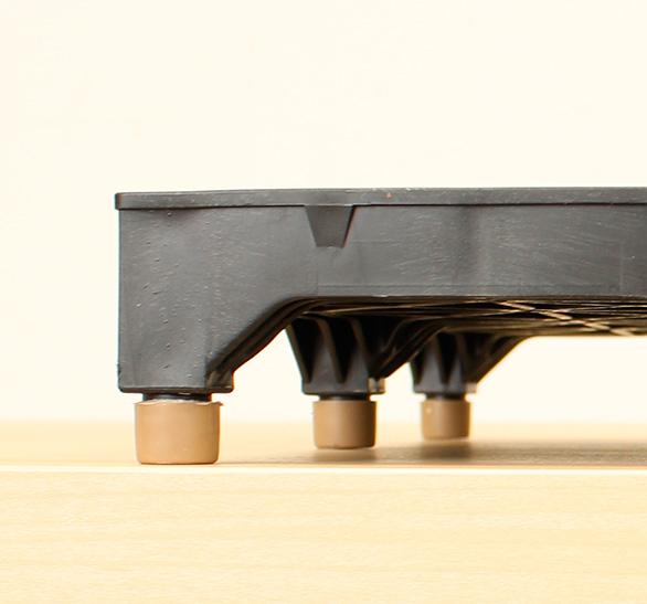 樹脂製OAフロアの耐久性