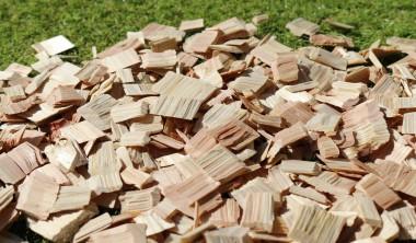 ウッドチップの木の香り