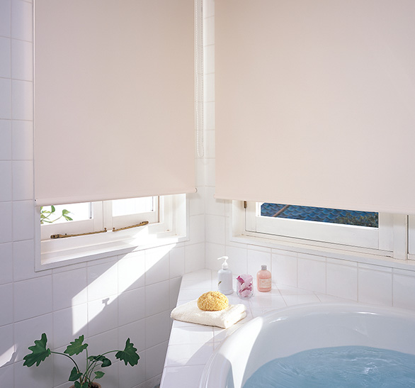 浴室には目隠しがあると安心