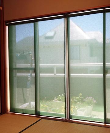 DIY ロールクスリーン 窓