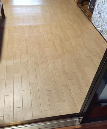 DIY クッションフロア 和室