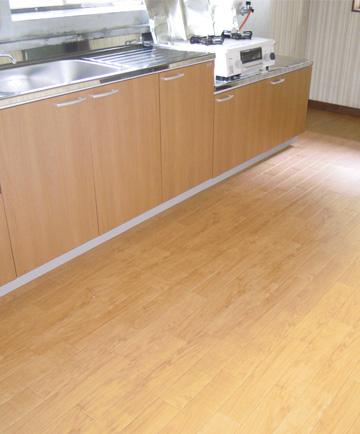 キッチン DIY クッションフロア