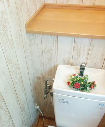 DIY トイレ 壁紙
