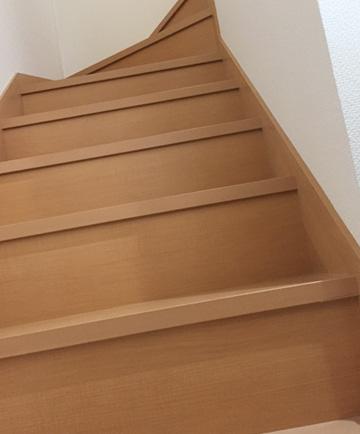 DIY 壁紙 階段