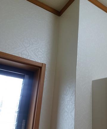 DIY 壁紙 洗面所