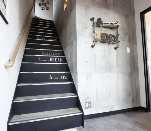 resta オフィス 階段