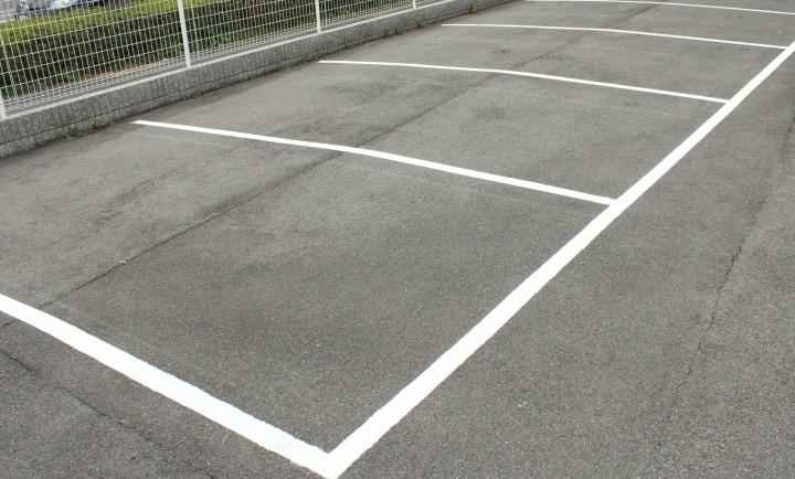 駐車場before