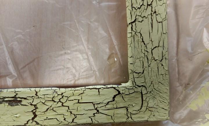 上塗り乾燥後