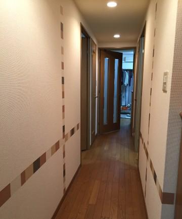 廊下after