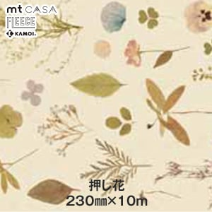 mt CASA FLEECE 押し花 230mm×10m