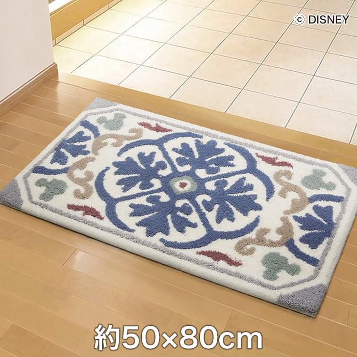 スミノエ ディズニーラグマット MICKEY/Decoration MAT(デコレーションマット) 約50×80cm