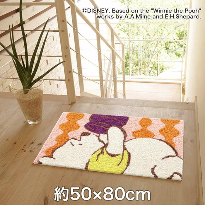 スミノエ ディズニーラグマット POOH/Peek MAT(ピークマット) 約50×80cm