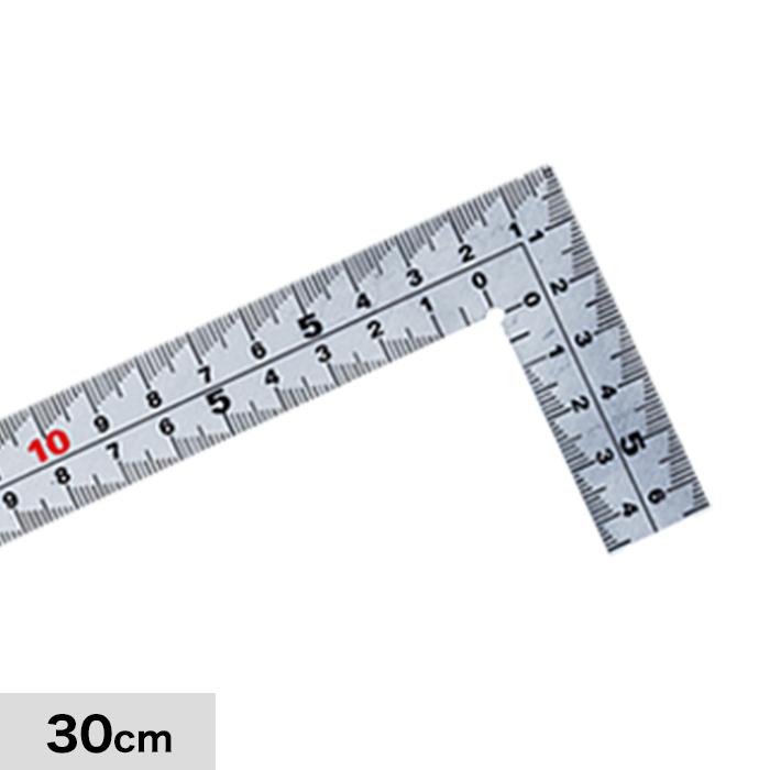 計測道具 快段目盛 厚手広巾 30cm MT-30KD