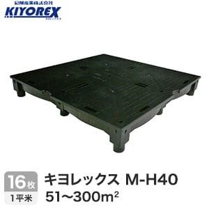 OAフロア キヨレックス M-H40 16枚入(1平米) ※こちらはご購入総面積が51~300平米以下の商品ページです