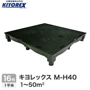 OAフロア キヨレックス M-H40 16枚入(1平米) ※こちらはご購入総面積が1~50平米以下の商品ページです