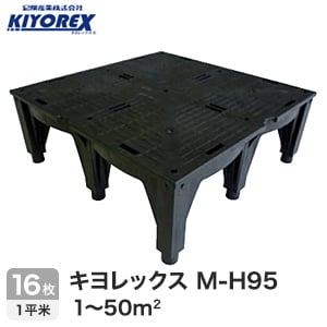 OAフロア キヨレックス M-H95 16枚入(1平米) ※こちらはご購入総面積が1~50平米以下の商品ページです